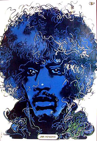 Waldemar Swierzy Incredible Polish Jimi Hendrix  Poster