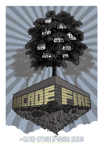 Mike King Arcade Fire Poster