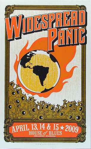 Mike King Widespread Panic Poster