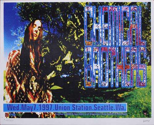 Frank Kozik Chemical Brothers Poster