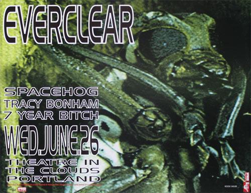 Frank Kozik Everclear Poster