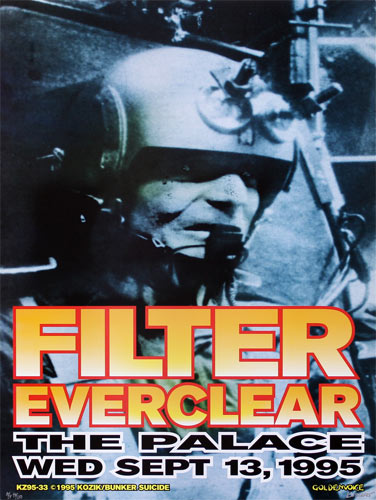 Frank Kozik Filter with Everclear Poster