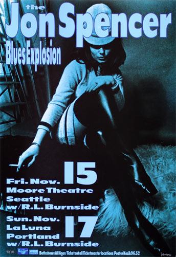 Frank Kozik The Jon Spencer Blues Explosion Poster