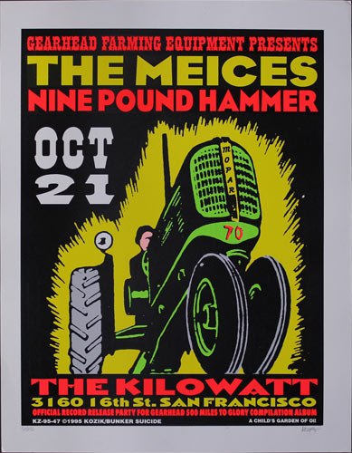 Frank Kozik The Meices Poster