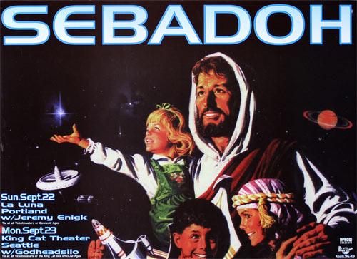 Frank Kozik Sebadoh Poster