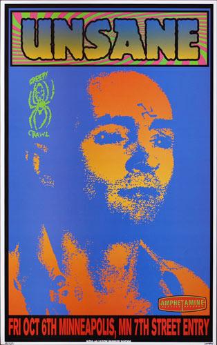 Frank Kozik Unsane Charles Manson Poster