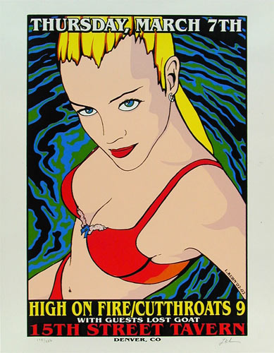 Lindsey Kuhn High On Fire Poster