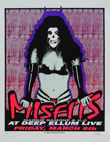 Lindsey Kuhn Misfits Poster