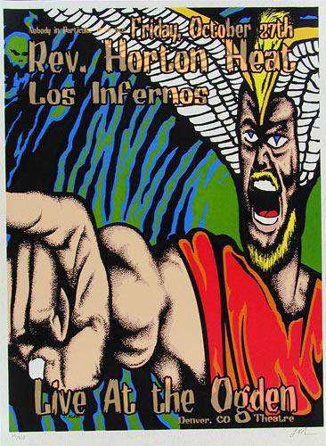 Lindsey Kuhn Reverend Horton Heat Poster