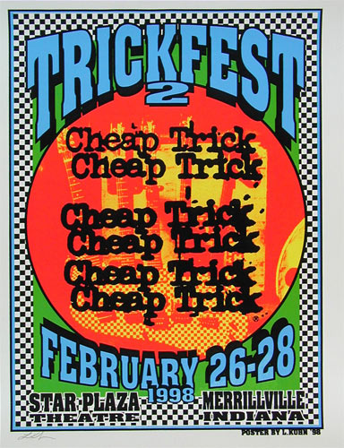 Lindsey Kuhn Cheap Trick Trickfest 2 Poster