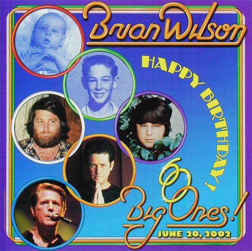 Mark London Brian Wilson 60th Birthday Poster
