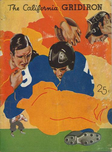 1934 California Bears vs St. Mary's Gaels College Football Program