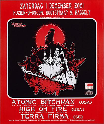 Malleus Atomic Bitchwax Poster