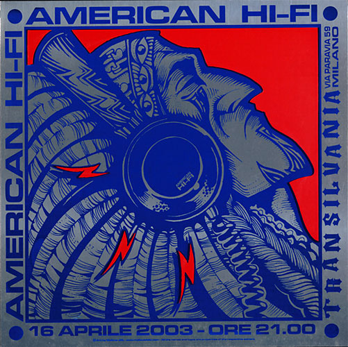 Malleus American Hi-Fi Poster