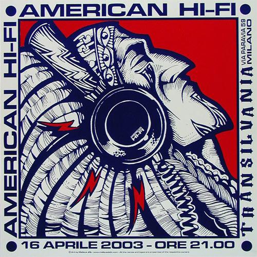 Malleus American Hifi  Poster