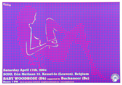 Malleus Baby Woodrose Poster