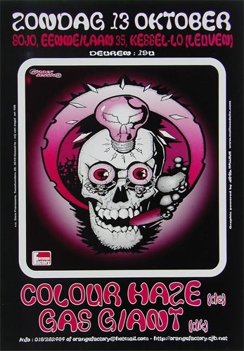 Malleus Colour Haze Poster