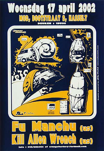 Malleus Fu Manchu Poster