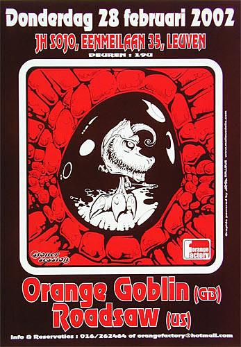 Malleus Orange Goblin Poster