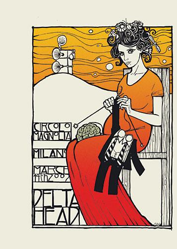 Malleus Deltahead Poster