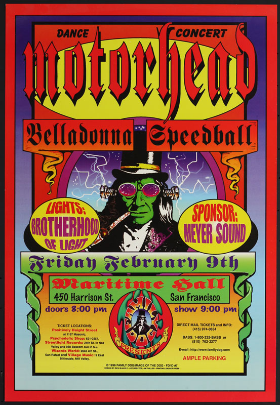 Rich Blakely Motorhead at Maritime Hall FD/ID (MHP) #7 Poster