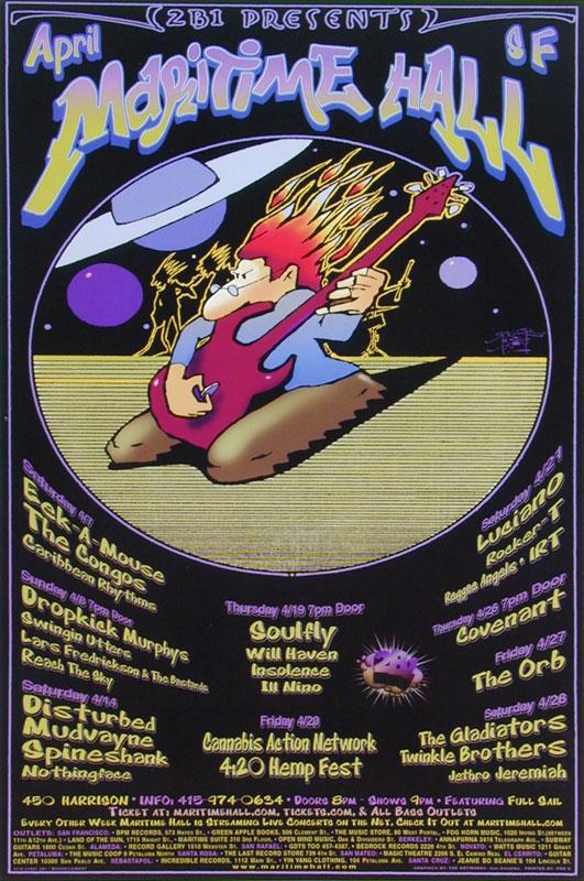 Stanley Mouse Dropkick Murphys Poster