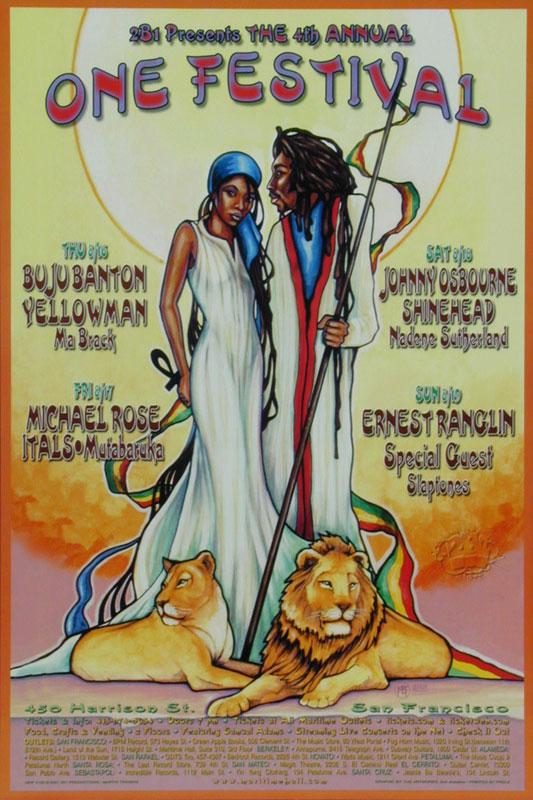 Buju Banton Poster