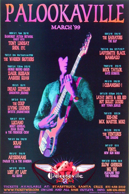 Mick Taylor Poster