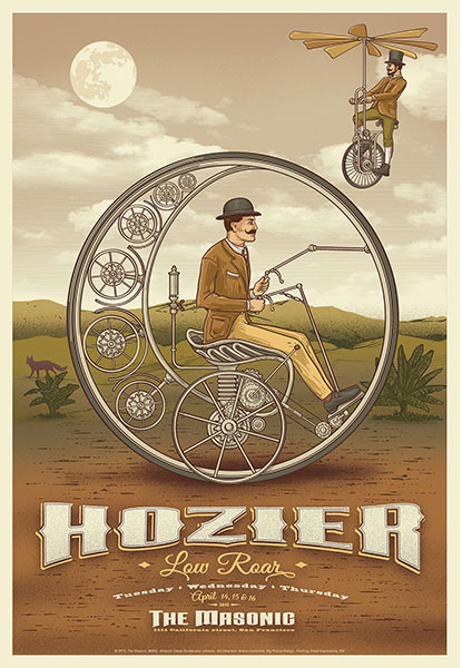 Derek Studebaker Johnson Hozier Poster