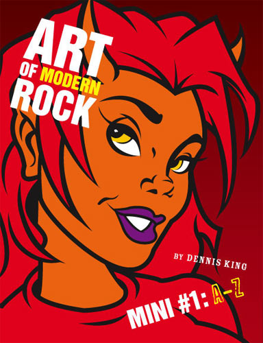 Art of Modern Rock Mini #1: A-Z Autographed Book