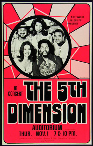 The 5th Dimension Cardboard Poster