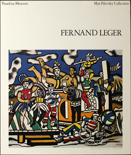 Fernand Leger Max Palevsky Collection Art Exhibition Poster