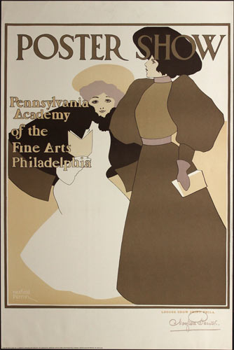 Maxfield Parrish Poster Show Poster
