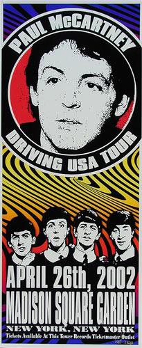Scott Benge (FGX) Paul McCartney Poster
