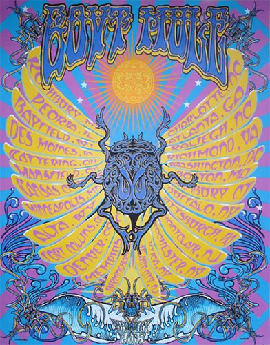 Richard Biffle Gov't Mule Poster