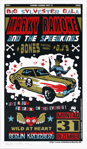 Bongout Marky Ramone and the Speedkings Poster