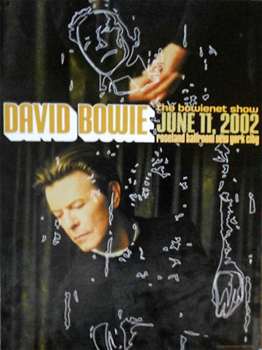 Rex Ray Photograph by Myriam Santos-Kayda David Bowie - The Bowienet Show Poster