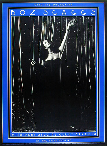 Boz Scaggs New Year's Eve Poster