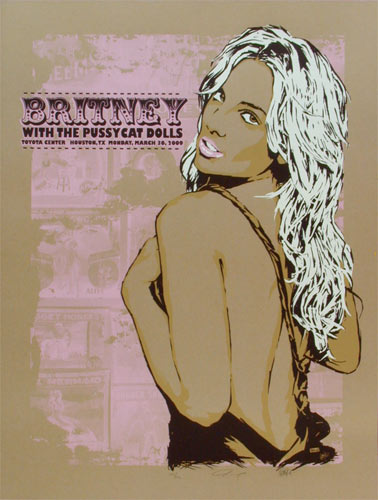 Billy Perkins Britney Spears Pussycat Dolls Poster