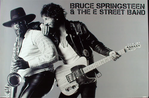 Bruce Springsteen and the E Street Band Poster