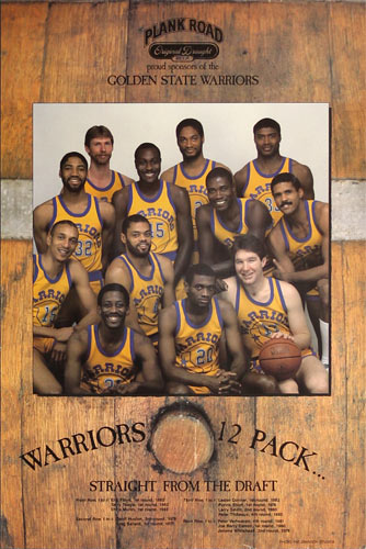 Chris Mullen Warriors 12 Pack Straight from the Draft - Golden State Warriors Basketball Poster