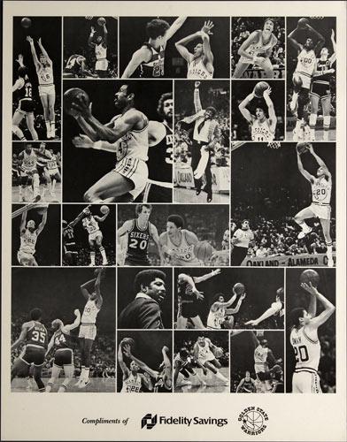 Fidelity Savings - Golden State Warriors Basketball Poster