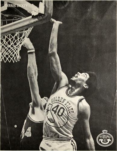 Derrek Dickey Tuborg Beer Basketball Poster