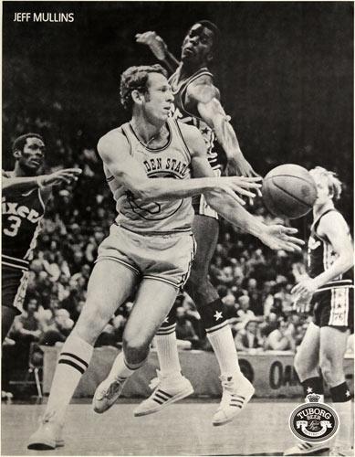 Jeff Mullins Tuborg Beer Basketball Poster