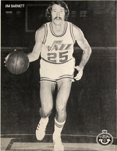 Tuborg Beer - Jim Barnett Basketball Poster