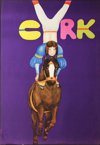 Urbaniec Maciej Cyrk (Polish Circus) Poster