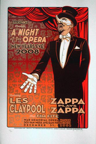 Reuben Rude Les Claypool Poster