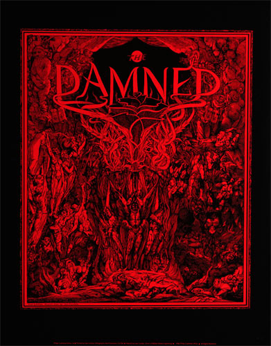 Lee Conklin and William Blake The Damned Poster