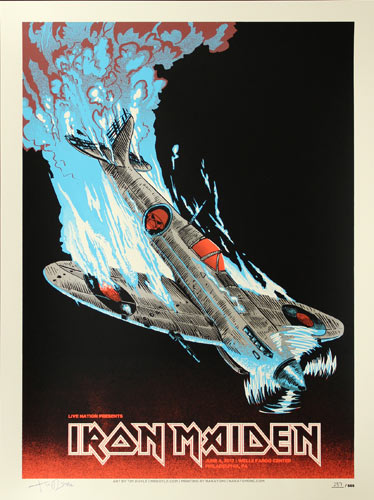 Tim Doyle Iron Maiden Poster