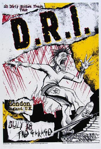 Mike Fisher - Drowning Creek DRI Poster